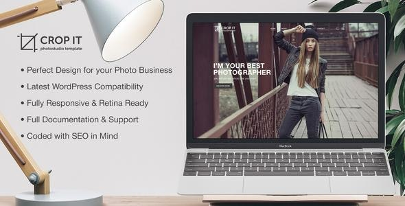 CropIt - Photography Template - Photography Creative
