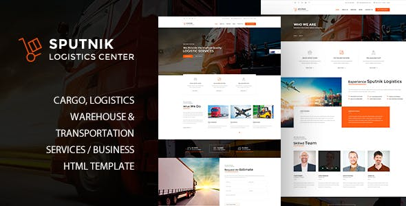 Sputnik Logistics Center HTML