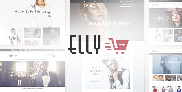 Elly - Multipurpose Responsive Magento Theme - Fashion Magento