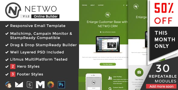 Netwo - Business Responsive Email Set