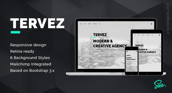 Tervez — Creative Coming Soon & Maintenance Mode Template - Specialty Pages Site Templates