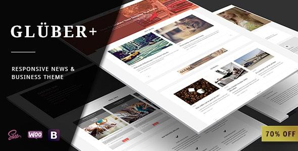 Gluber - Multi Purpose Personal & News Theme - Blog / Magazine WordPress