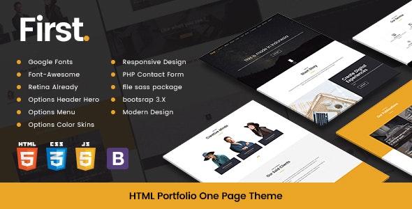 Creative Template Modern HTML Portfolio - Portfolio Creative