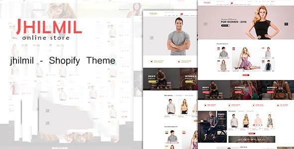 Jhilmil - Fashion Shopify Theme