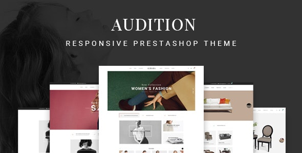 Audition - Multipurpose Responsive Prestashop Theme | 7+ Homepages - Shopping PrestaShop