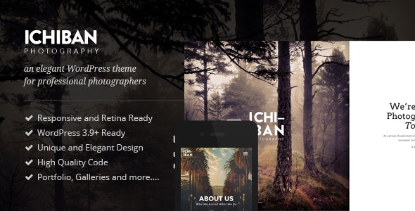 Ichiban - A Theme for Photographers - Photography Creative