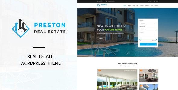 Preston - Real Estate WordPress Theme - Real Estate WordPress