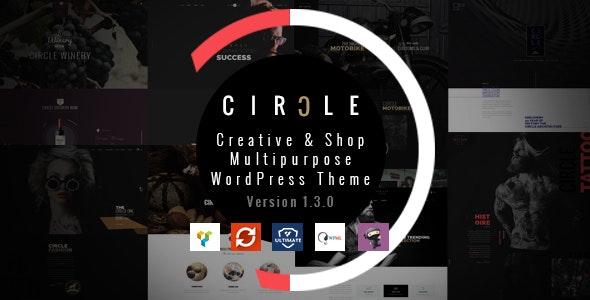 CIRCLE - Creative & Shop Multipurpose WordPress Theme - Creative WordPress