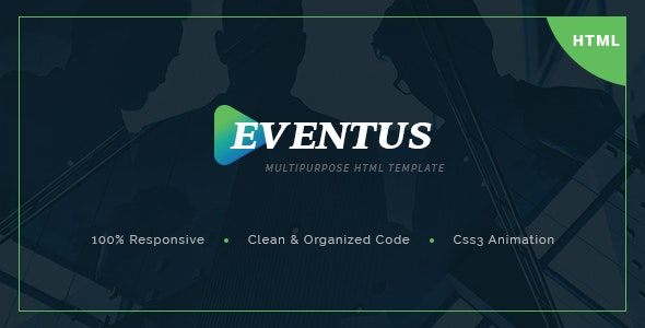 Eventus -Multipurpose HTML Template - Events Entertainment