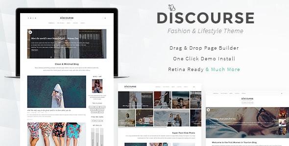 Discourse - Magazine & Blogging Theme - Blog / Magazine WordPress