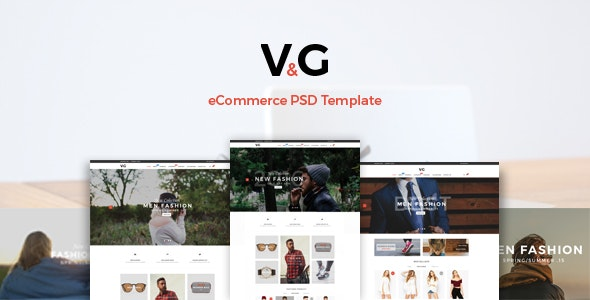 VG - eCommerce PSD Template - Fashion Retail