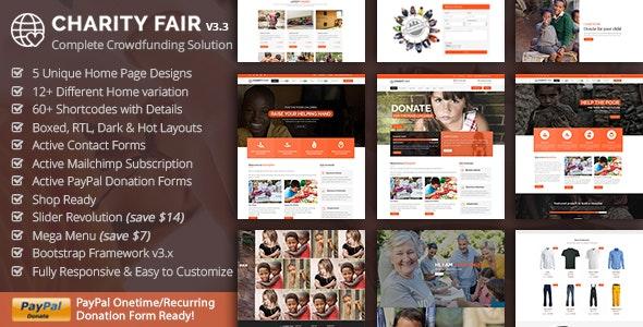 Charityfair - NonProfit Charity - Charity Nonprofit