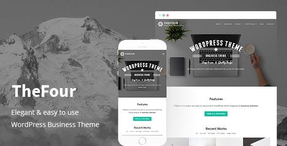TheFour - WordPress Business Theme