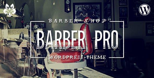 Barber Pro - Professional Barber Shop WordPress Theme