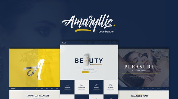 Amaryllis - Beauty/Spa WordPress Theme - Health & Beauty Retail