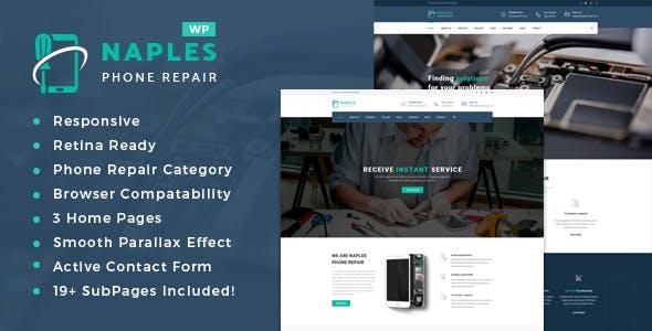 Naples - Phone Repair Shop WordPress Theme