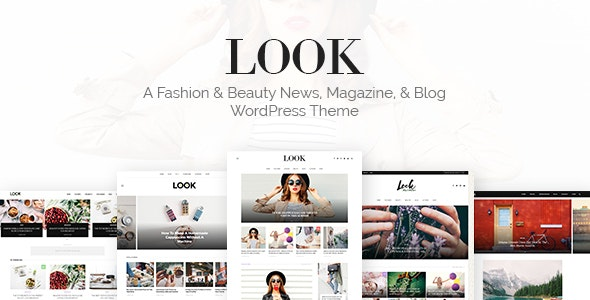 Look: Minimal Magazine and Blog WordPress Theme - News / Editorial Blog / Magazine