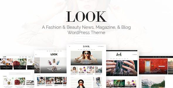 Look: Minimal Magazine and Blog WordPress Theme