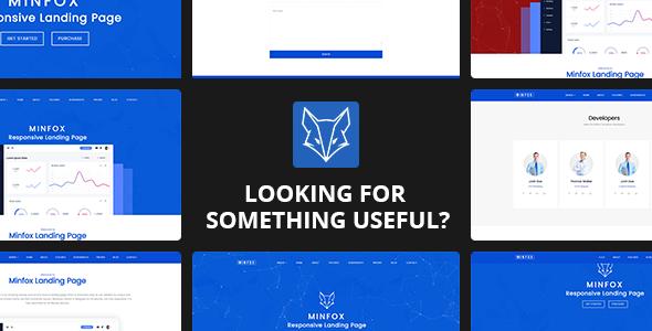 Minfox - Responsive WordPress Software Landing Page Theme - Software Technology