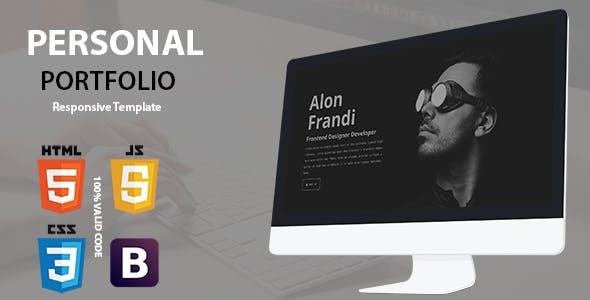 Personal - Responsive Portfolio Template