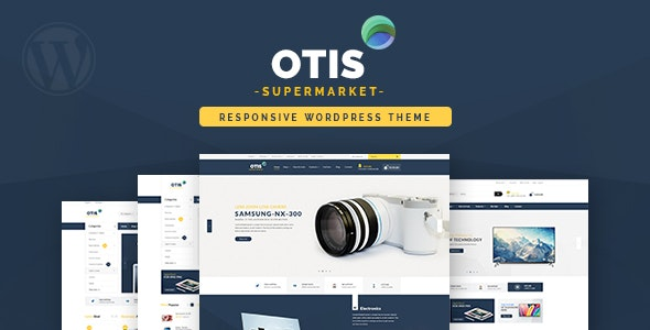 Otis - Multipurpose WooCommerce WordPress Theme - WooCommerce eCommerce