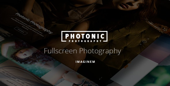 Photonic | Photography Theme for WordPress - Photography Creative