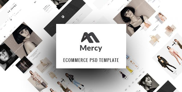 Mercy - Stunning eCommerce PSD Template for Fashion