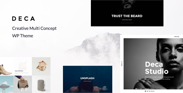 DECA - Creative Multi Concept WP Theme - Creative WordPress