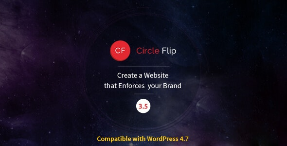 Circle Flip - Responsive WordPress Multipurpose Theme - Corporate WordPress
