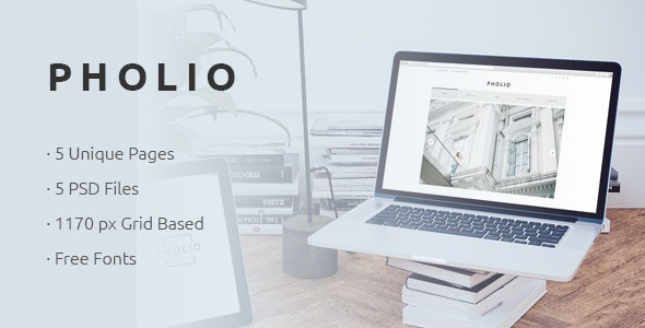PHOLIO - Modern & Clean Photography Theme - Photography Creative