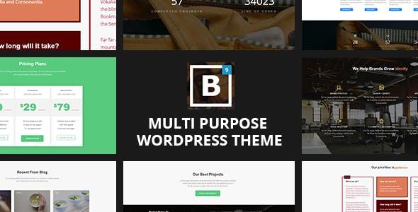 BIG Border - Onepage WordPress