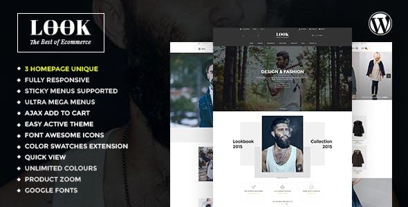 Look - Responsive Multi-Purpose WooCommerce WordPress Theme