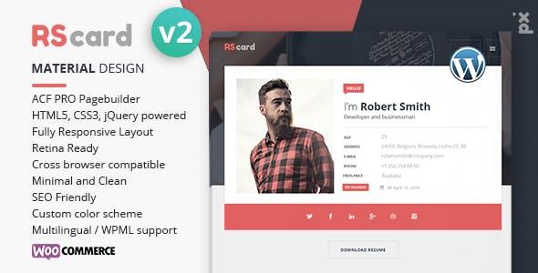 WordPress CV Templates from ThemeForest