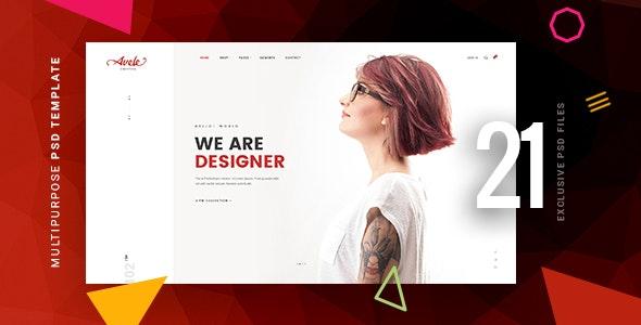Avele | A Multipurpose PSD Template - Business Corporate