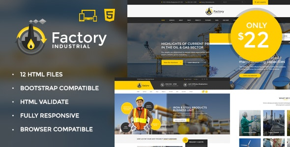 Facto foundry HTML5 Template - Business Corporate