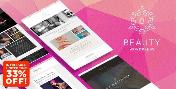WP Beauty WordPress Theme — Day Spa, Salon, Barber Shop, Fashion Blog & More - Health & Beauty Retail