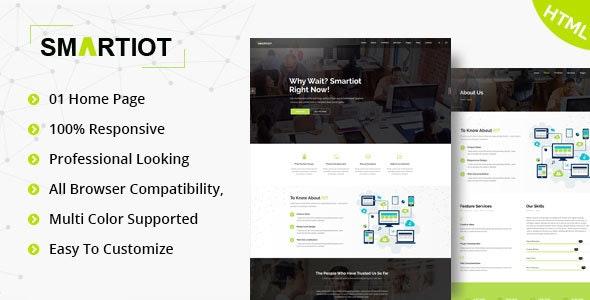 SmartIOT || Corporate HTML5 Template - Business Corporate