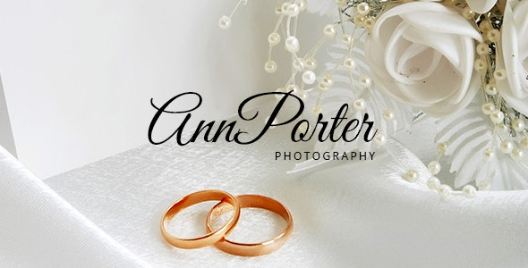 AnnPorter Photography HTML Responsive Template - Photography Creative