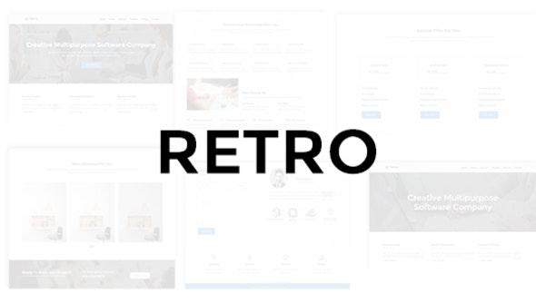Retro - Multipurpose Business Theme - Technology Site Templates