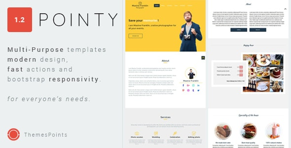 Pointy - Package of The Multi-Purpose Responsive Templates - Food Retail