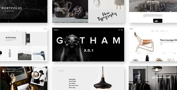 Gotham - Responsive Creative WordPress Theme - Portfolio Creative