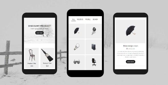 Folio - Portfolio Mobile Template