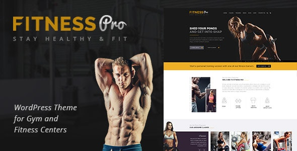 Fitness Pro - Gym WordPress Theme - Health & Beauty Retail