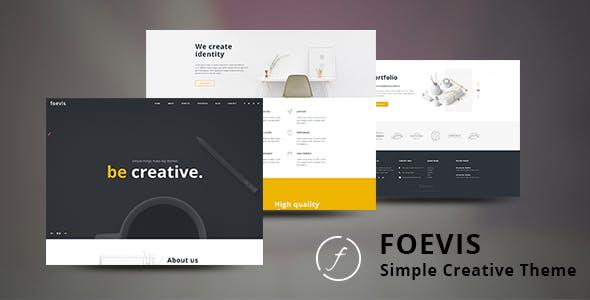 Foevis - Portfolio WordPress Theme