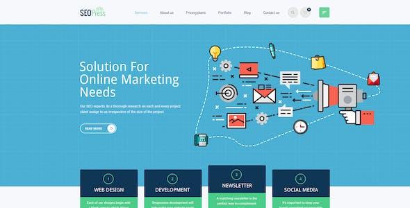 SeoPress - Digital Marketing Agency PSD Template