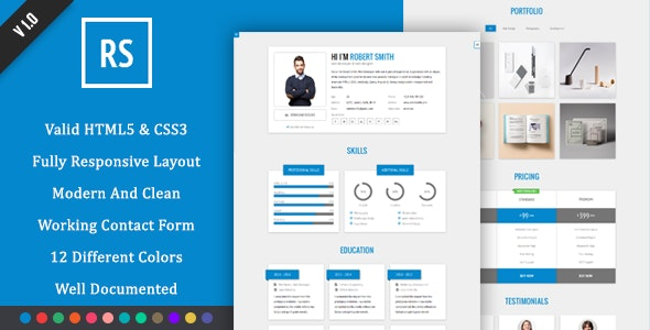 RStill - CV/Resume - Resume / CV Specialty Pages