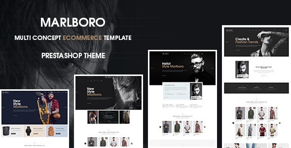 Marlboro- Multipurpose Responsive Prestashop Theme - Fashion PrestaShop