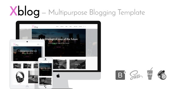 Xblog — Multipurpose Blogging Template - Electronics Technology