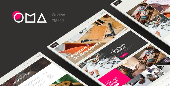 OMA - Creative Agency Muse Template - Creative Muse Templates