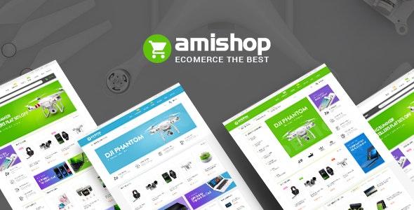 Amishop - Multipurpose WooCommerce WordPress Theme - WooCommerce eCommerce